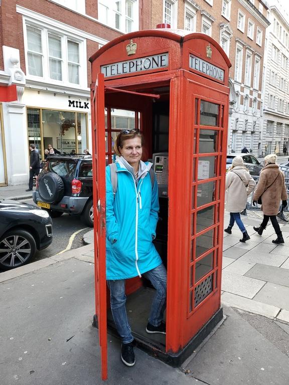 Red Teleohone box