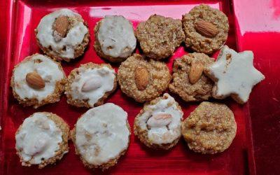 Elisenlebkuchen / Gingerbread Cookies