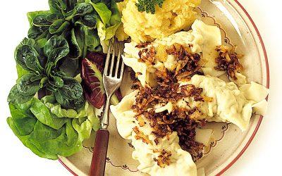 Swabian dumplings (Maultaschen)