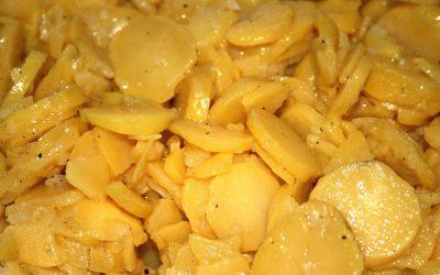 Swabian Potato salat with broth