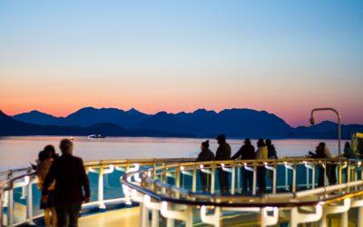 Cruising Alaska Whittier -Vancouver