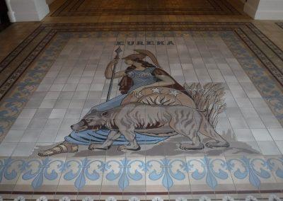 Eureka Tile mosaic