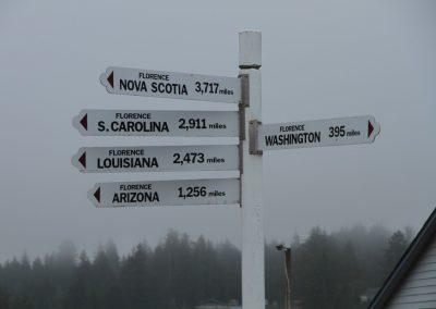 Florence distances sign