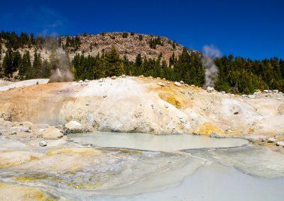 Lassen Volcanic steaming