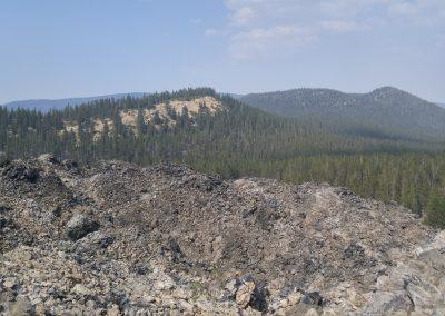 Lassen Volcanic Monument Panorama