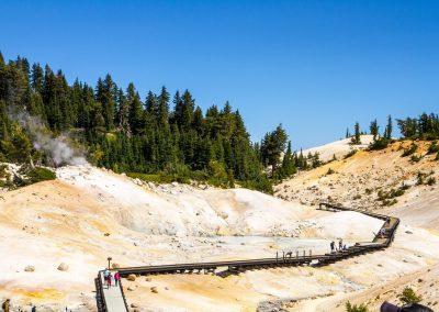 Lassen Volcanic NP Sulfur Panorama
