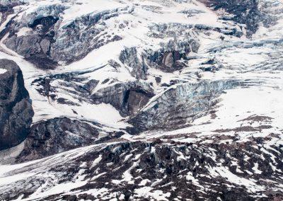 Mt.Rainier Glacier close-up