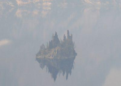 Phantom Island crater lake