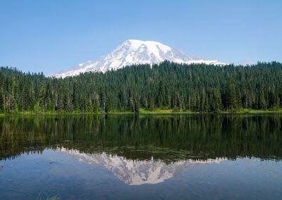 Reflection LAke Mt. Rainier National Park