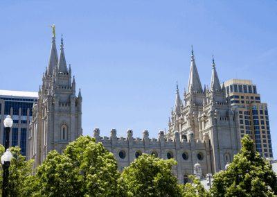 Salt Lake Temple side view