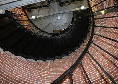 Staircase Heceta Lighthouse
