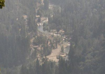 Yosemite smokey view