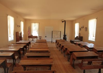 Columbia Historic State PArk class room