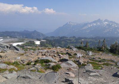 hiking vista Mt. Rainier
