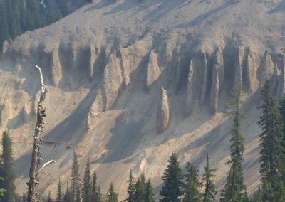 pinnacles overlook crater lake
