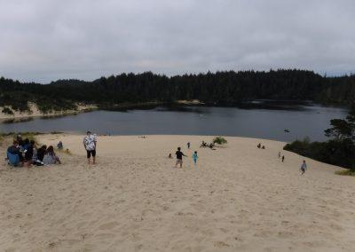 sand beach honeyman state park