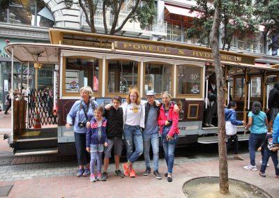 cable tram San Francisco