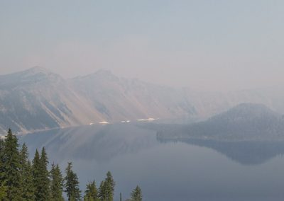 Smoky Wizzard Island Crater lake