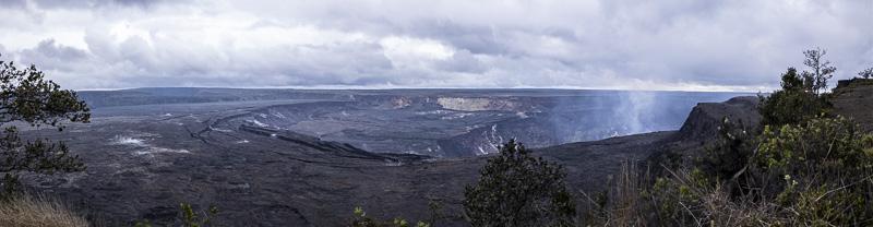 Hale Maumau Crater Panorama