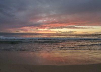 sunset Mauna kea