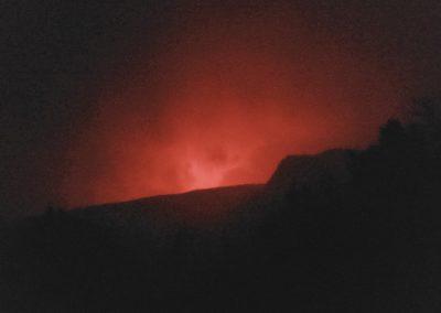 Lava Glow - Hawaii Volcanoes NP