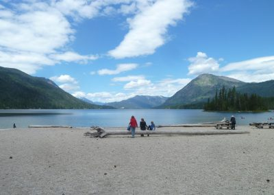 Lake Wenatchee Panorama