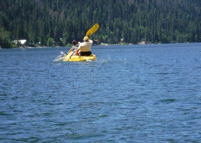 Lake Wenatchee kayaking
