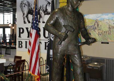Statue at Pybus Public Market