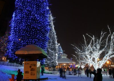 Leavenworth lights