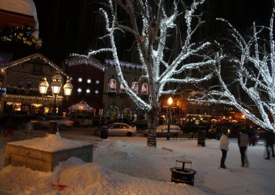 Leavenworth at night